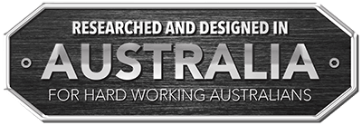 Researched and Designed In Australia